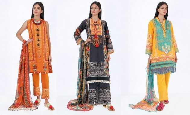 Photo of Different Shalwar kamez Khaadi Summer Collection 2020