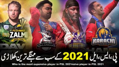 Photo of PSL 2021 Top 10 Expensive Players in Different Categories