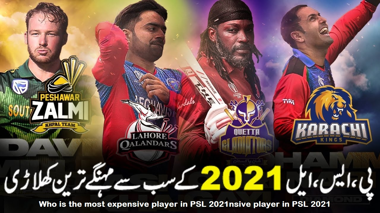 PSL 6 PLAYERS, Top 10 Expensive Players