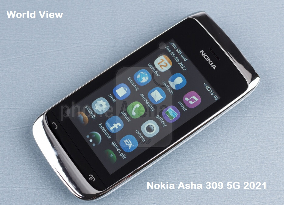 Nokia Asha 309 5G 2021 price and Release date