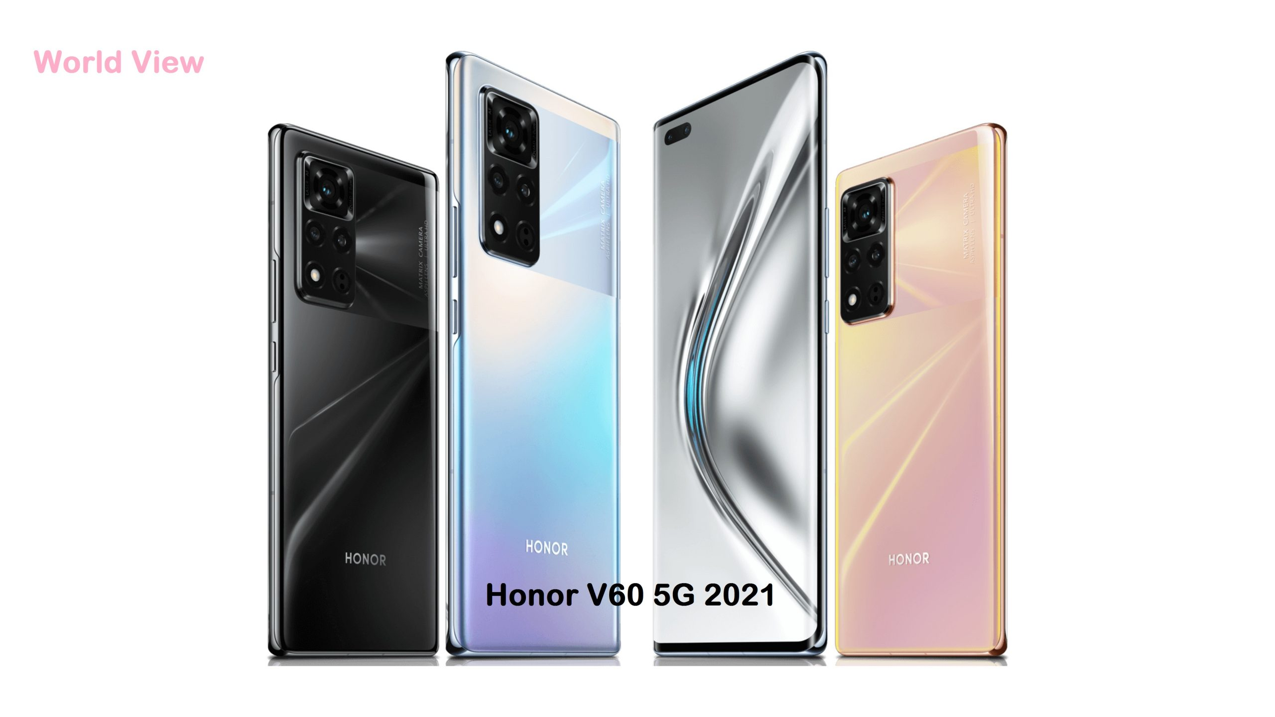 Honor V60 5G 2021 Price in Pakistan and Release Date
