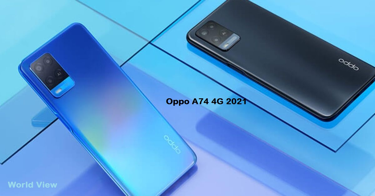 Oppo A74 4G 2021 Price and Release Date