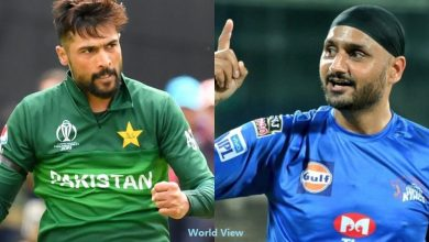 Photo of War Of Words Between Mohammad Amir and Harbhajan Singh Takes An Ugly Turn